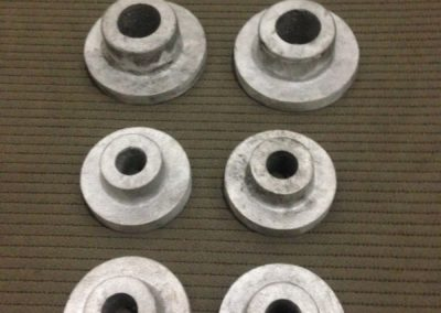 Bucha com aba em Alumínio