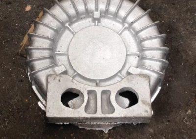 Tampa de ventilador centrífugo